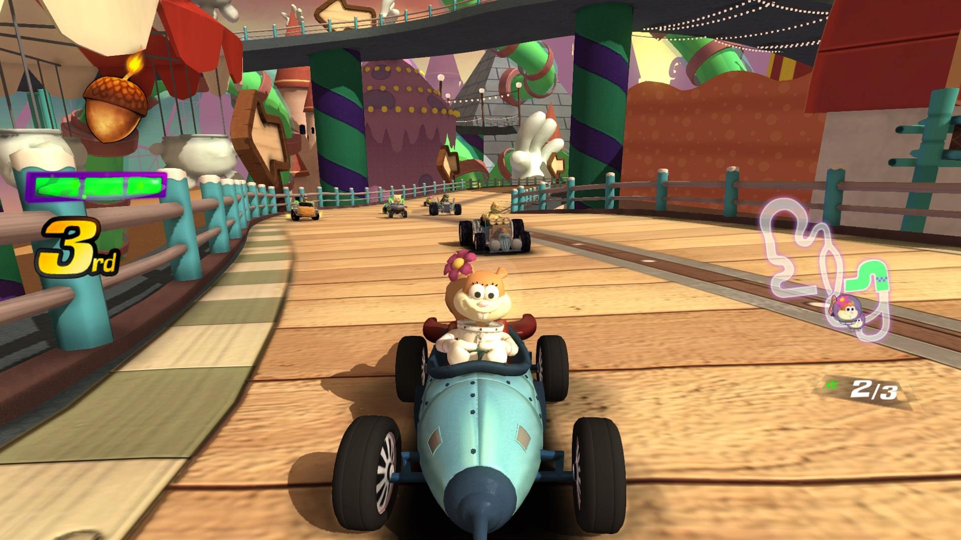 Скриншот №9 к Nickelodeon Kart Racers