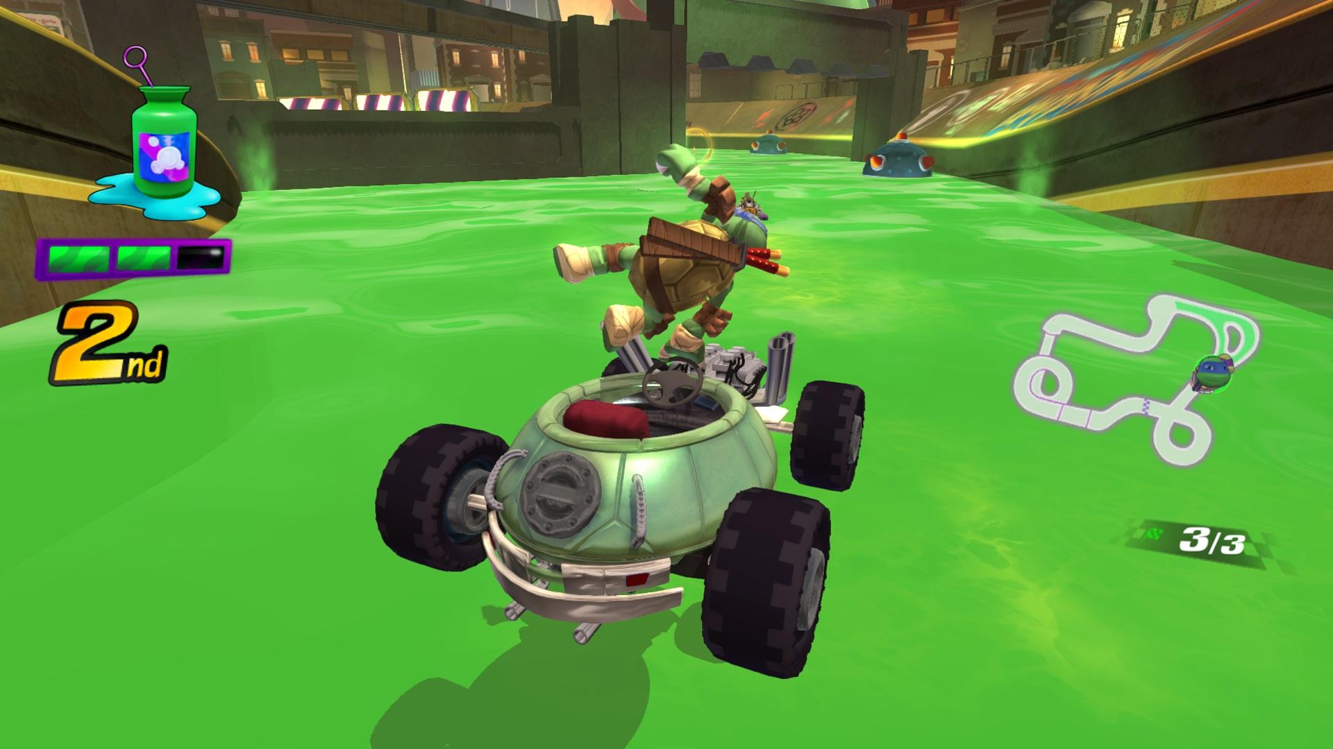 Скриншот №6 к Nickelodeon Kart Racers