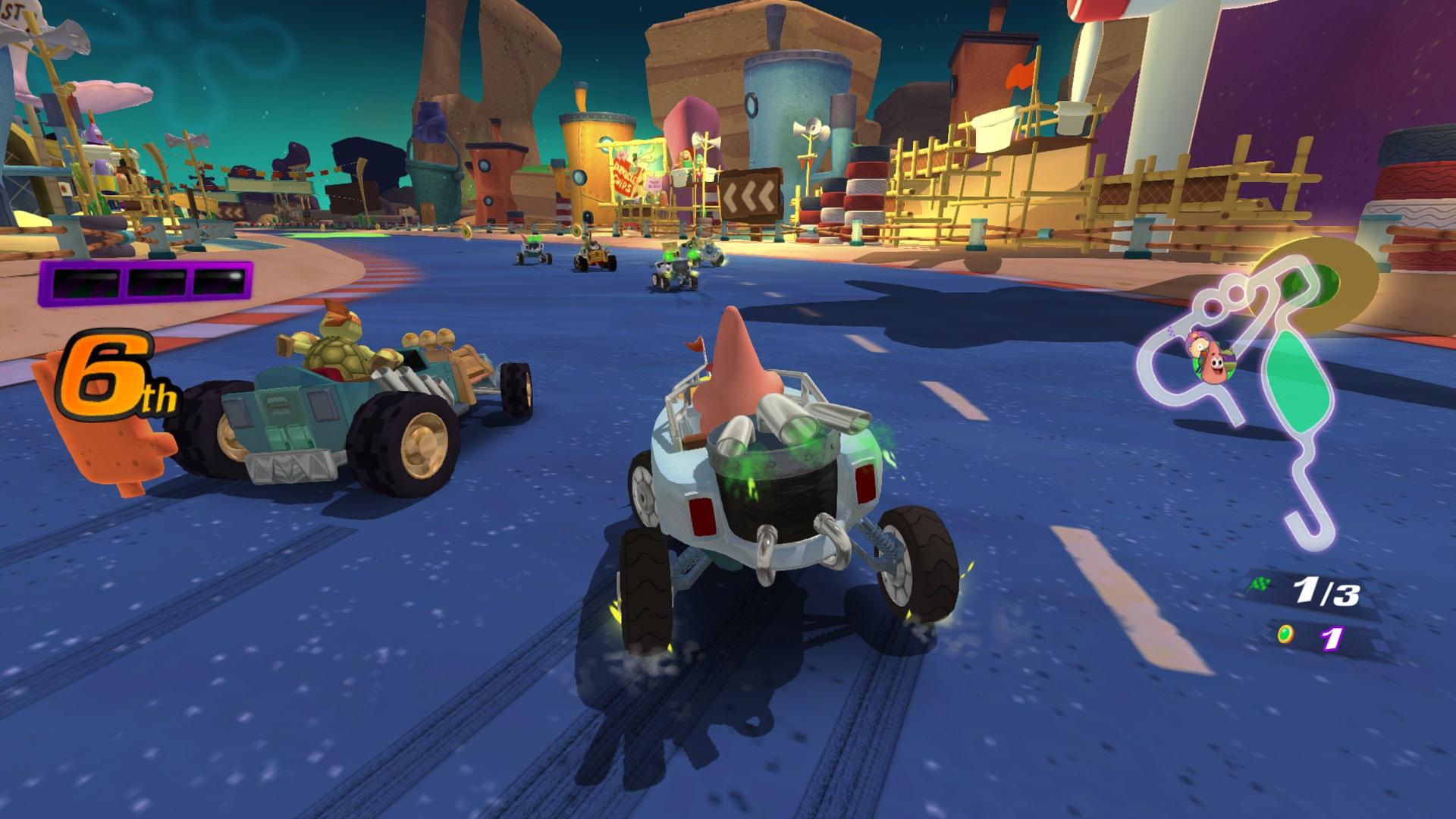 Скриншот №2 к Nickelodeon Kart Racers