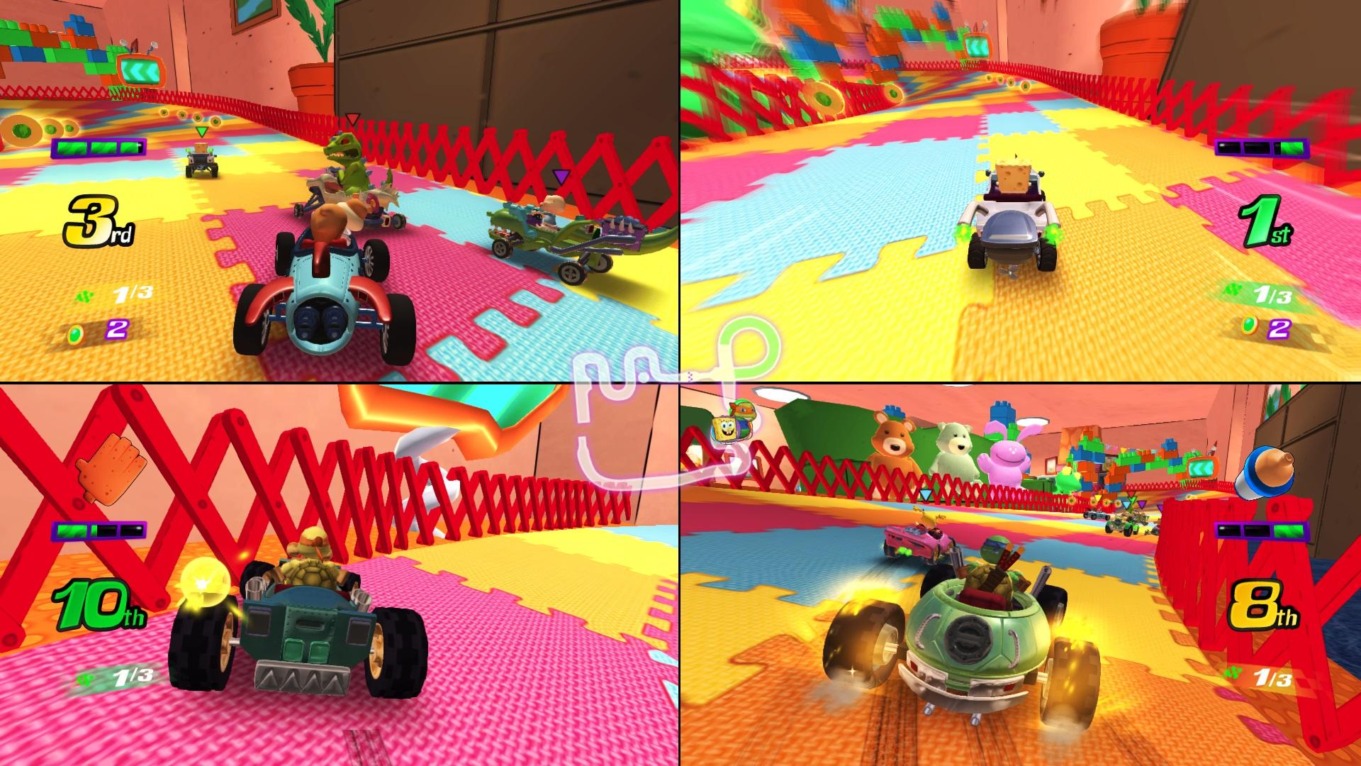 Скриншот №7 к Nickelodeon Kart Racers