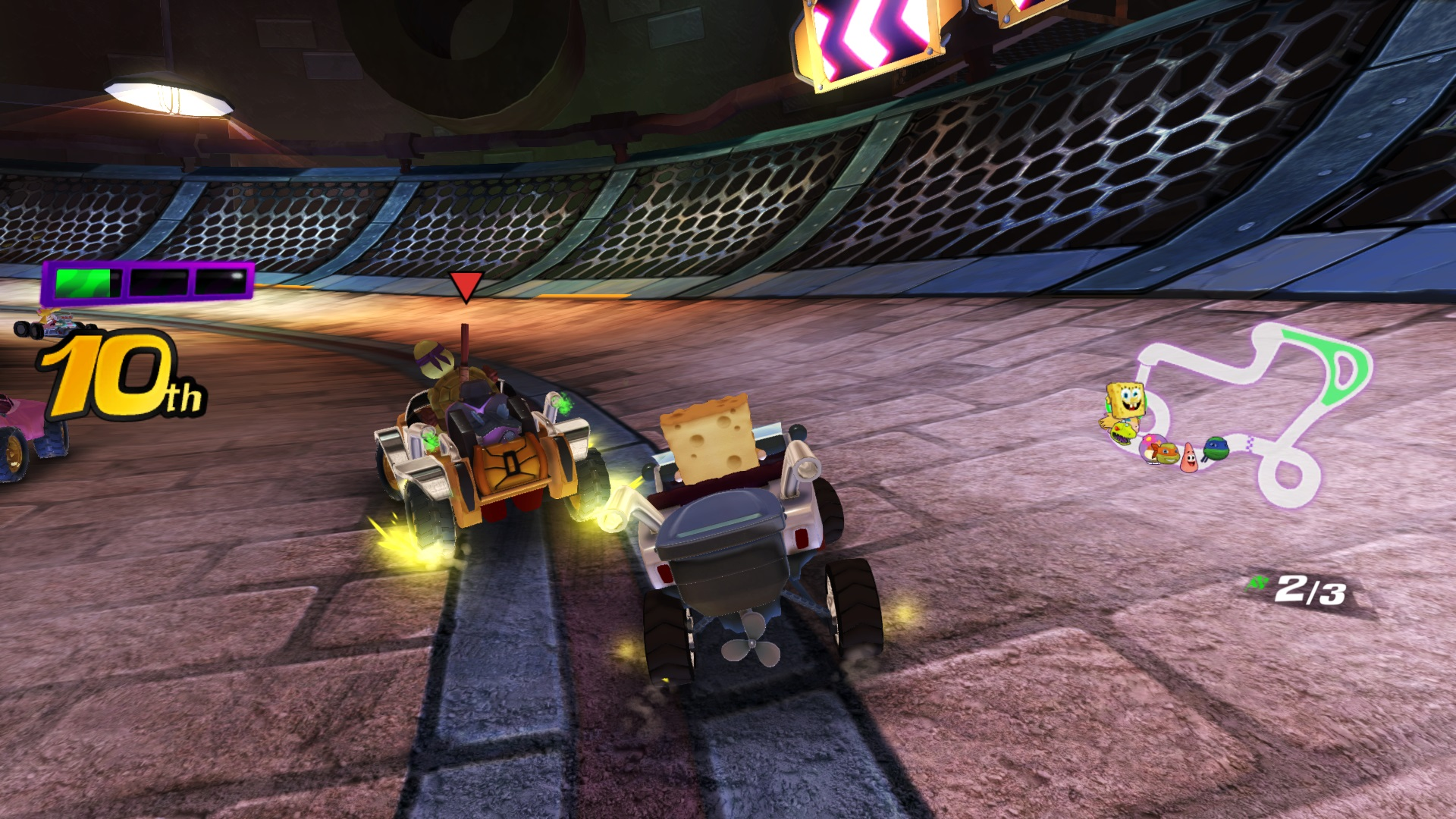 Скриншот №8 к Nickelodeon Kart Racers
