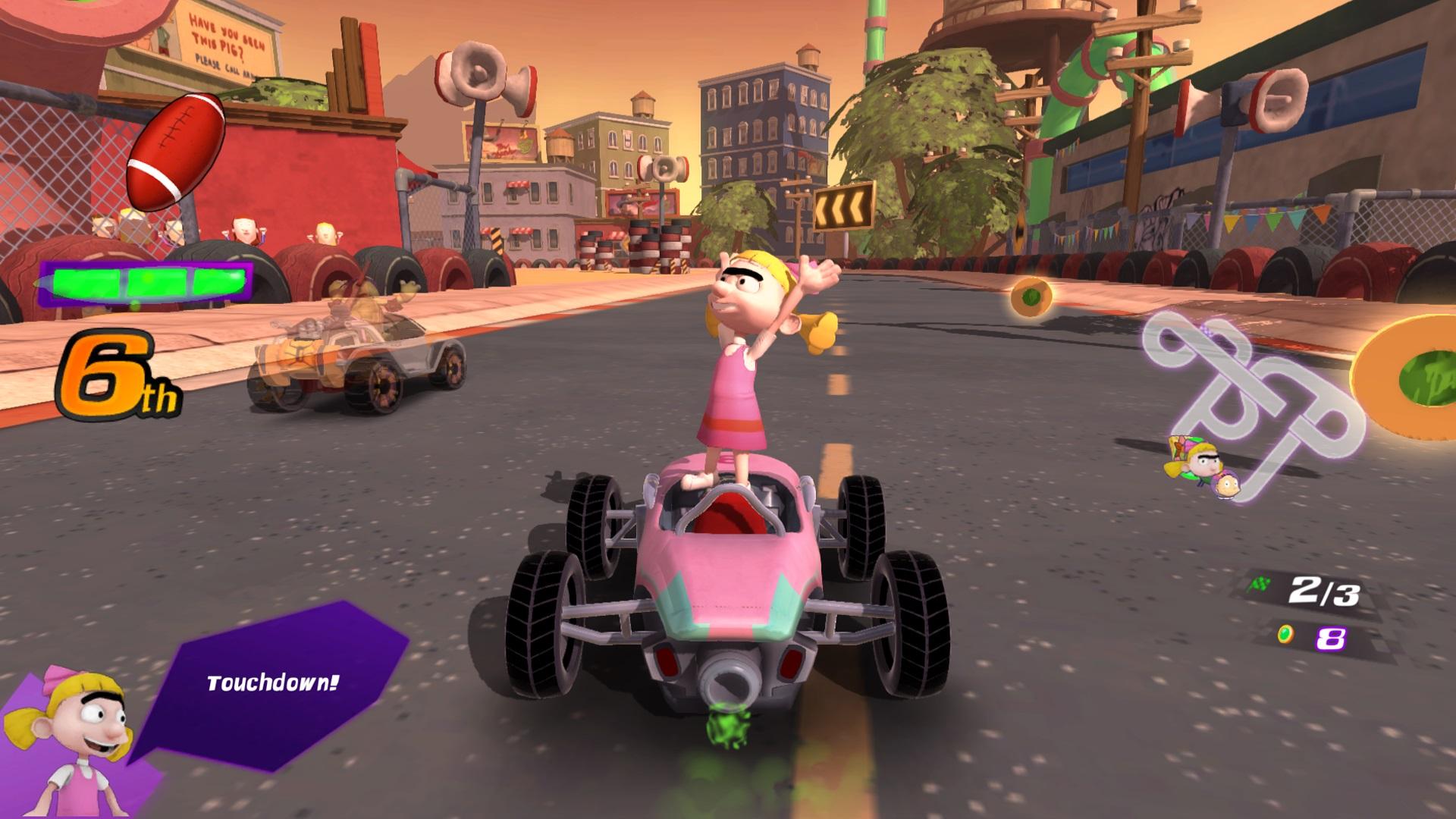 Скриншот №5 к Nickelodeon Kart Racers