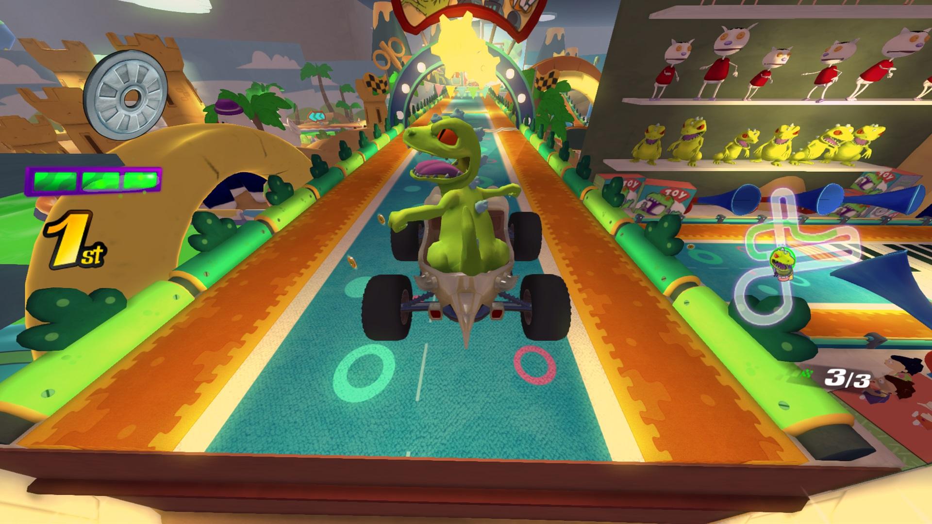 Скриншот №3 к Nickelodeon Kart Racers