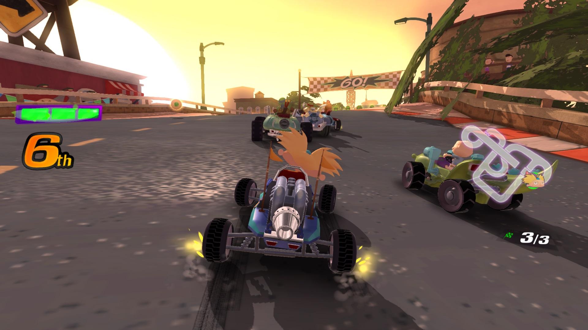 Скриншот №10 к Nickelodeon Kart Racers
